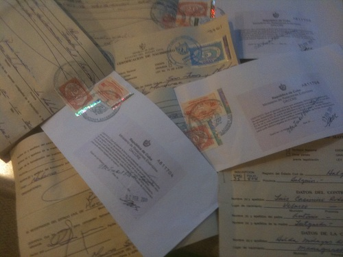 Cuban Birth, Marriage and Death Certificates - CubaCityHall.com